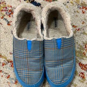 Sorrel plaid shoe
